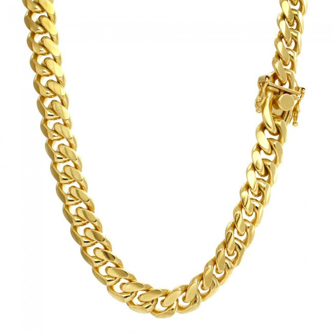 Miami Cuban Link Chain Vermeil 8mm