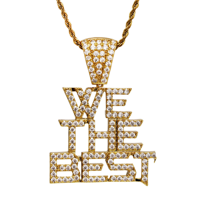 We The Best Pendant