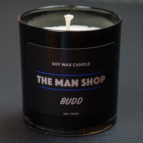 The Man Shop Budd Cannabis Soy Wax Candle