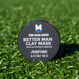 WS BETTER MAN ACTIVATED CHARCOAL CLAY MASK