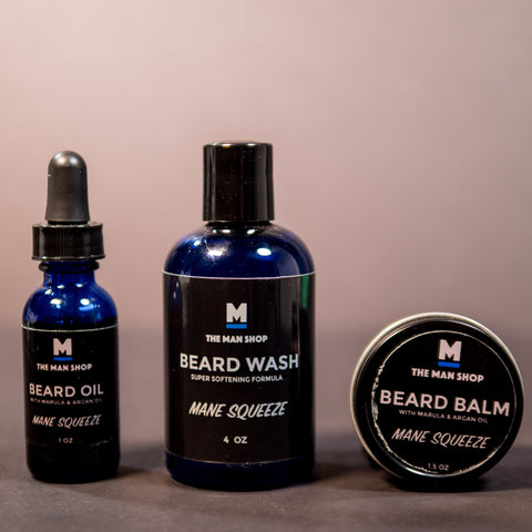 THE BEARD BUNDLE- SAVE 20% OVER BUYING SEPARATELY