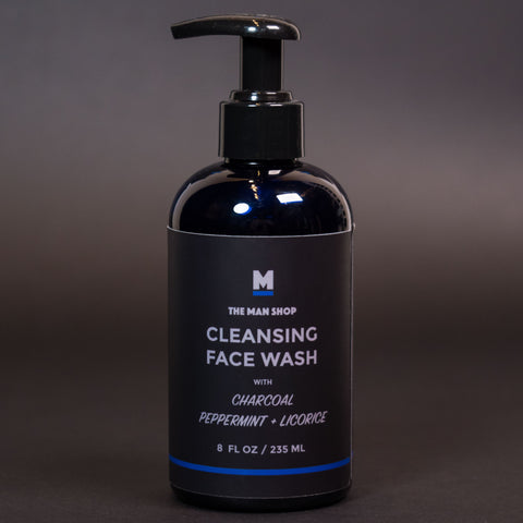 The Man Shop Activated Charcoal Face Wash