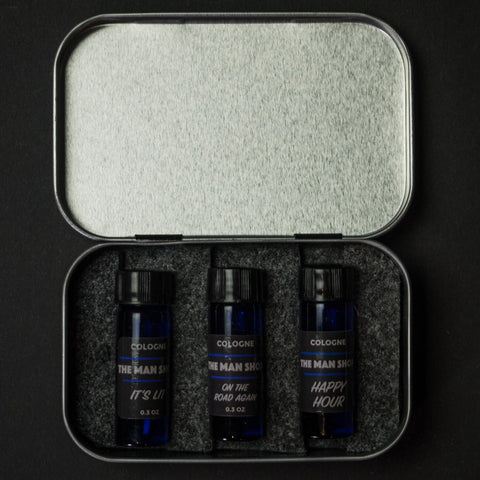 The Man Shop Cologne Sampler Set
