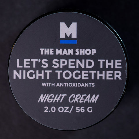 The Man Shop Let's Spend The Night Together Night Cream