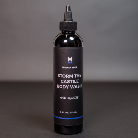 The Man Shop Mane Squeeze Storm the Castile Body Wash