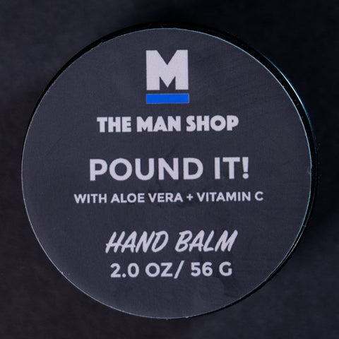 The Man Shop Pound It! Hand Balm 2 oz