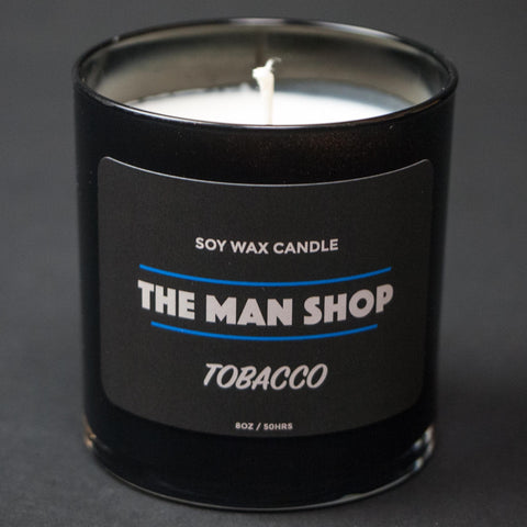 The Man Shop Tobacco Soy Wax Candle