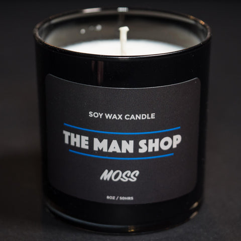 The Man Shop Moss Soy Wax Candle