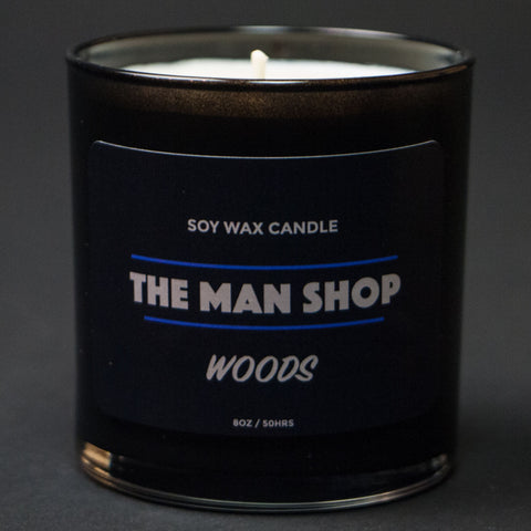 The Man Shop Woods Soy Wax Candle