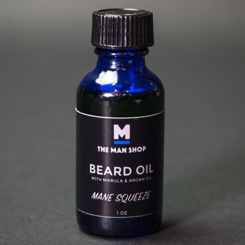 TESTER MANE SQUEEZE MAN SHOP BEARD OIL-WS