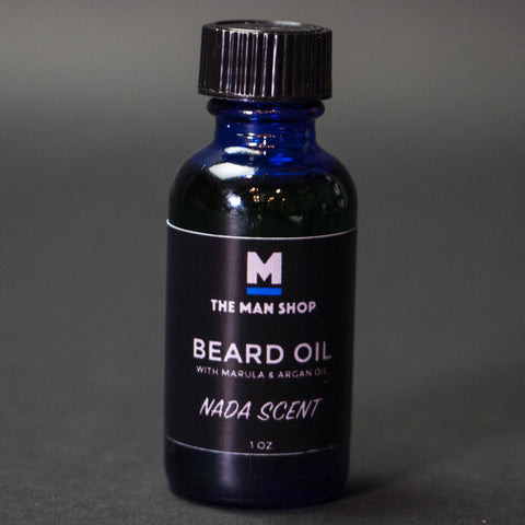 The Man Shop Nada Scent Beard Oil
