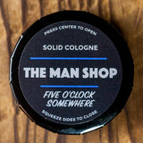 The Man Shop Five O'Clock Somewhere Solid Cologne