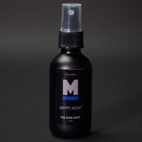 The Man Shop Happy Hour Cologne Spray Bottle 2 oz