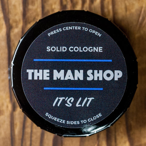 The Man Shop It's Lit Solid Cologne