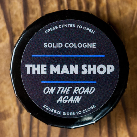 The Man Shop On The Road Again Solid Cologne