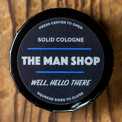 The Man Shop Well Hello There Solid Cologne