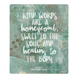 Splosh Have Faith Honeycomb Verse Inspirational Plaque Home Wall Decor - The Bowerbirds Nest of Treasures