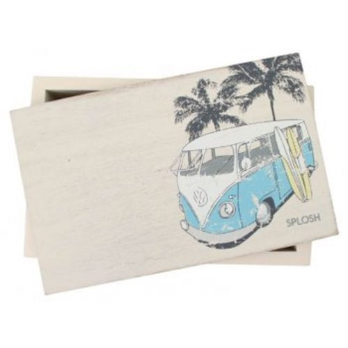 KOMBI CAR SMALL WOODEN TRINKET JEWELLERY STORAGE BOX Home Decor Gift - The Bowerbirds Nest of Treasures