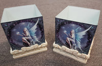 Anne Stokes Stargazer Fairy Crystals Candle Holder Set 2 - The Bowerbirds Nest of Treasures