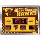 AFL Glass LED Digital Scoreboard Clock - the-bowerbirds-nest-of-treasures