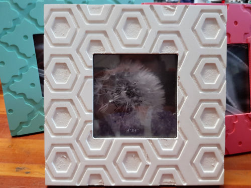 White Square Photo Picture Frame Free Standing Home Decor - The Bowerbirds Nest of Treasures