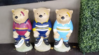 PENRITH PANTHERS NRL Footy Wombat Concrete Garden Statue - The Bowerbirds Nest of Treasures