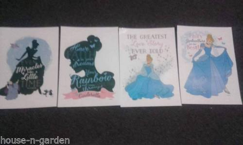 DISNEY PRINCESS FAIRY GODMOTHER PRINTED VINYL WALL STICKERS Wall Art Home Decor - the-bowerbirds-nest-of-treasures