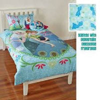 DISNEY FROZEN ELSA ANA PEPPERMINT SCENTED Double Bed Quilt Doona Cover Set - The Bowerbirds Nest of Treasures