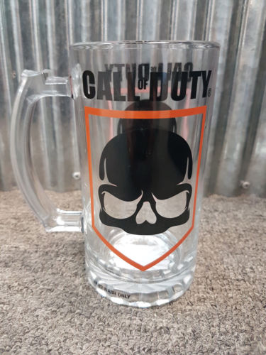 CALL OF DUTY 500ml Stein Drink Beer Glass Bar Mancave Video Game Gift - The Bowerbirds Nest of Treasures