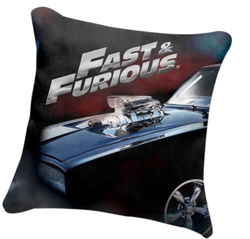 Fast & Furious Filled Cushion Pillow - The Bowerbirds Nest of Treasures