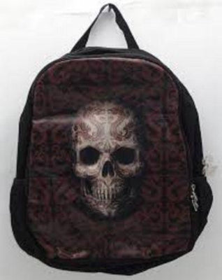 Anne Stokes ORIENTAL SKULL Uni School RuckSack Backpack Bag - The Bowerbirds Nest of Treasures