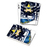 OFFICIAL LICENSED NRL NTH QLD COWBOYS TEAM LOGO FULL DECK PLAYING CARDS POKER - The Bowerbirds Nest of Treasures