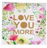 LOVE YOU MORE FLOWERS CANVAS WALL ART HOME DECOR - the-bowerbirds-nest-of-treasures