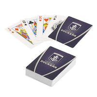 OFFICIAL LICENSED AFL Fremantle Dockers TEAM LOGO FULL DECK PLAYING CARDS Game - The Bowerbirds Nest of Treasures