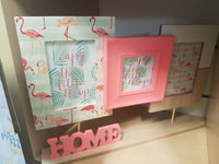 FLAMINGO Home Collage Photo Picture Frame Home Decor - the-bowerbirds-nest-of-treasures