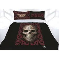 ANNE STOKES ORIENTAL SKULL MYTHICAL QUEEN BED QUILT COVER SET - The Bowerbirds Nest of Treasures