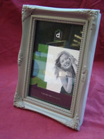 GREY PICTURE PHOTO FRAME HOLDS 4X6 PHOTO Home Decor Gift - The Bowerbirds Nest of Treasures