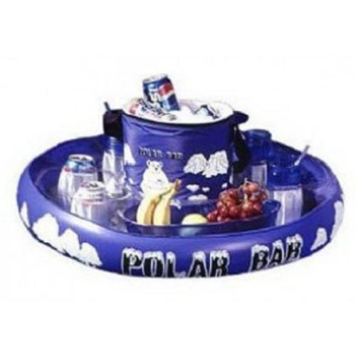 AQUA FUN POLAR BAR REFRESHMENT HOLDER FLOAT COOLER WATER POOL SPA BEACH - The Bowerbirds Nest of Treasures