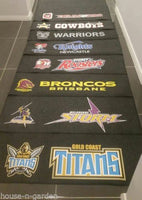 NRL BRISBANE BRONCOS MULTIPURPOSE DOOR DESK BBQ BEDROOM BATHROOM MAT HOME DECOR - The Bowerbirds Nest of Treasures