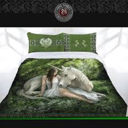 ANNE STOKES PURE HEART MYTHICAL Queen Bed Quilt Doona Duvet Cover Set - the-bowerbirds-nest-of-treasures