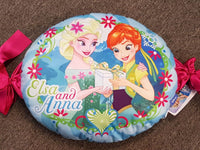 Disney FROZEN Elsa Filled Bedroom Cushion - The Bowerbirds Nest of Treasures