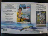 AFN FISHING & OUTDOORS Fishing Master Class No 2 Book DVD Lure Gift Set - The Bowerbirds Nest of Treasures