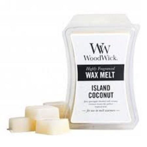Woodwick Wax Melts ~ Island Coconut - The Bowerbirds Nest of Treasures