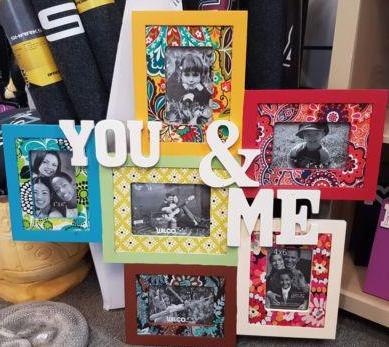YOU & ME COLLAGE PHOTO FRAME - The Bowerbirds Nest of Treasures