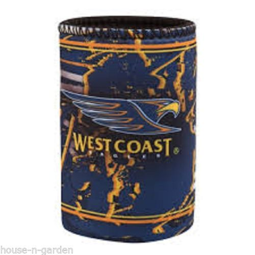 Official Licensed AFL West Coast Eagles Team Song Stubby Can Drink Cooler Holder - The Bowerbirds Nest of Treasures