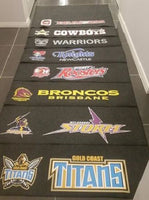 NRL RUGBY LEAGUE GOLD COAST TITANS MULTIPURPOSE BBQ MAT X 12 WHOLESALE BULK LOT - The Bowerbirds Nest of Treasures