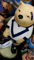 CANTERBURY BULLDOGS NRL Football Wombat Concrete Statue - the-bowerbirds-nest-of-treasures