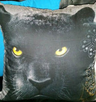 PANTHER Pillow Cushion Home Bedding Lounge Decor - The Bowerbirds Nest of Treasures