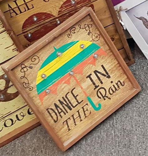 Dance in the Rain Led Sign - The Bowerbirds Nest of Treasures