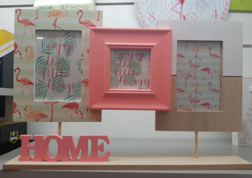 FLAMINGO Home Collage Photo Picture Frame Home Decor - The Bowerbirds Nest of Treasures